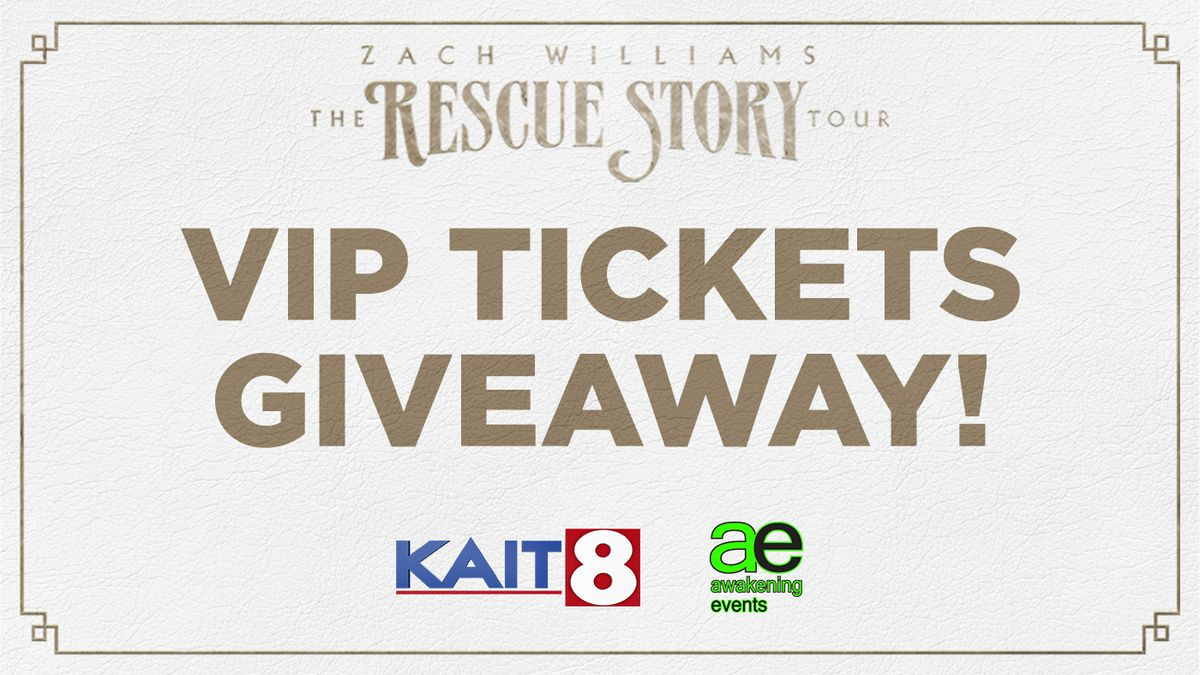 Zach Williams VIP Ticket Giveaway