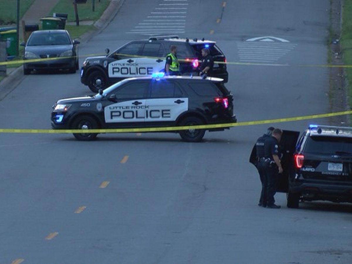 Little Rock police investigate officer-involved shooting, car crash