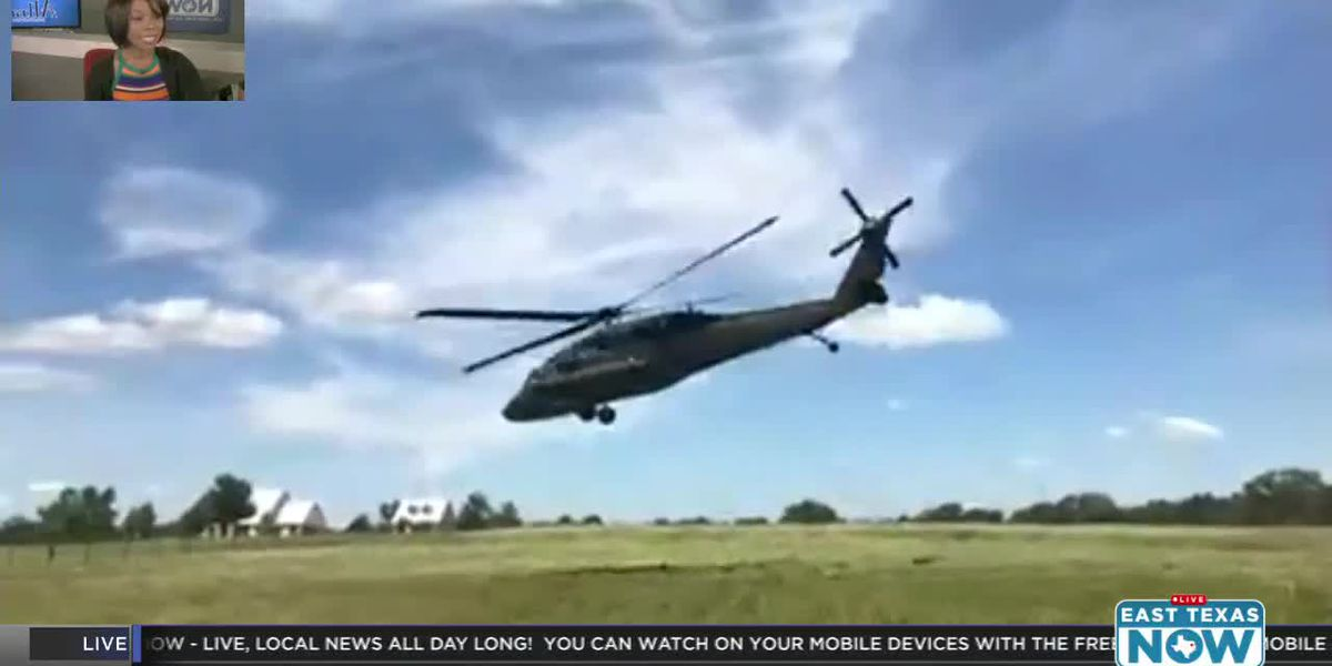 WATCH: Black Hawk helicopter takes off after making precautionary landing in Troup neighborhood