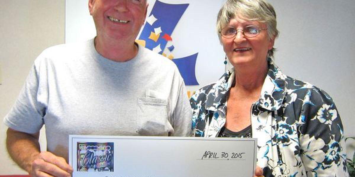 Jonesboro man collects $1 million payoff at Mr. T's