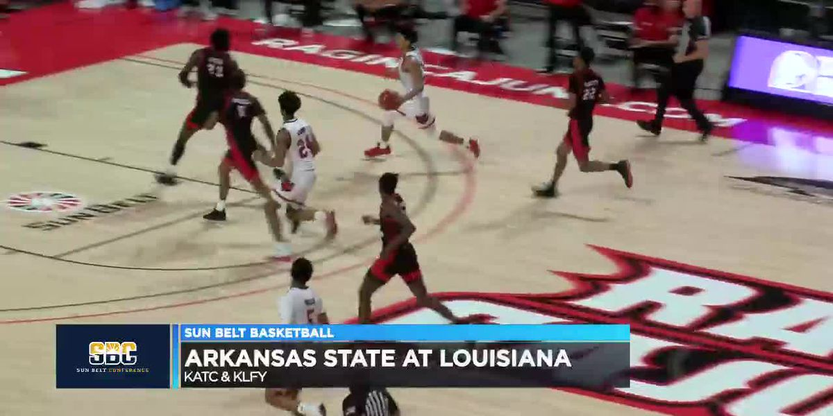 Marquis Eaton has 15 pts but Arkansas State men fall at Louisiana