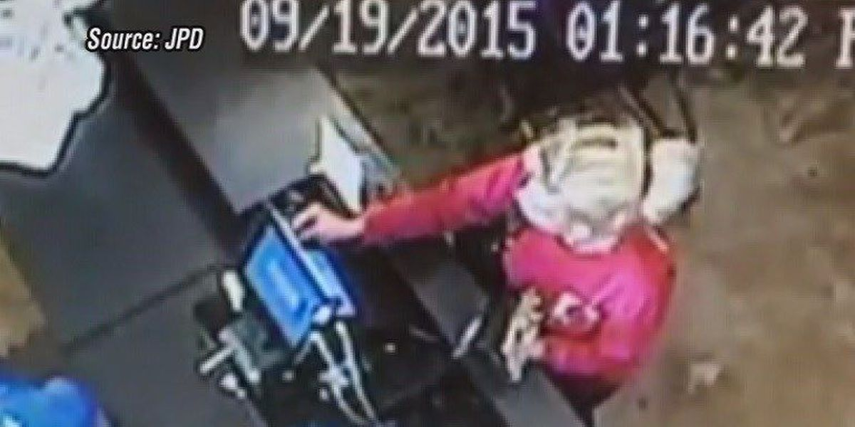 Crimestoppers: JPD looking for cell phone swiper