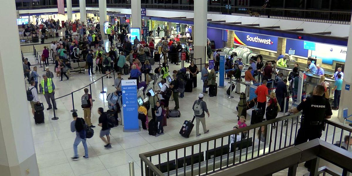 Fall break brings record highs to passenger numbers at Memphis International Airport