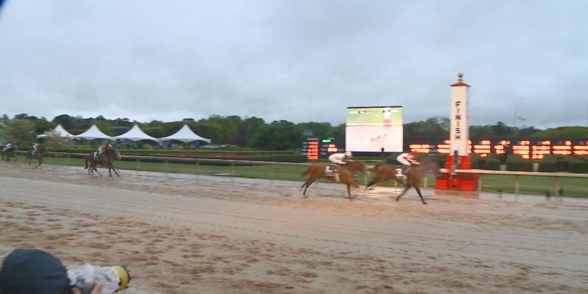 Omaha Beach takes 2019 Arkansas Derby