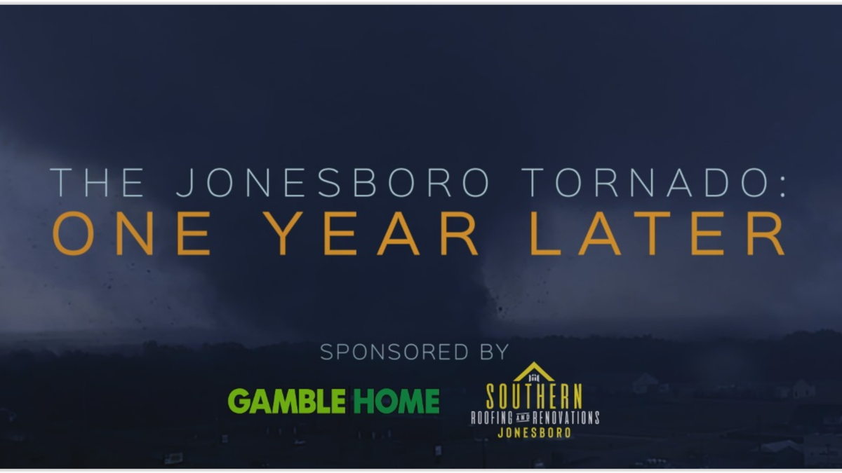 The Jonesboro Tornado: One Year Later