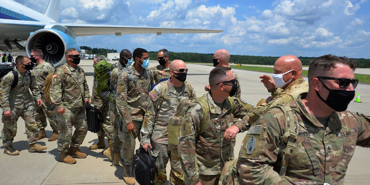 'What a great day.' 120 soldiers return to N.C. after year in Middle East
