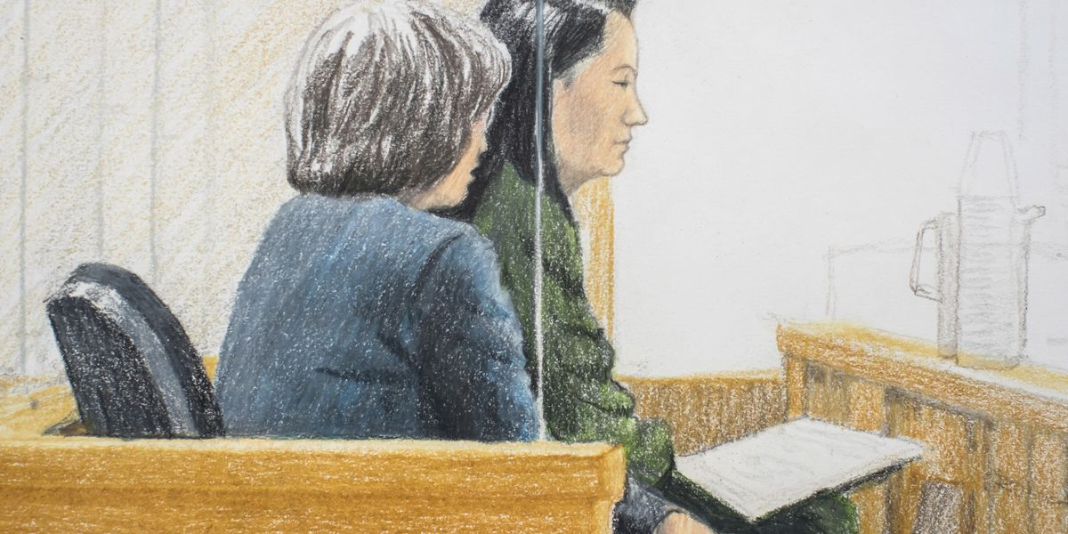 Chinese executive facing US extradition appears in court