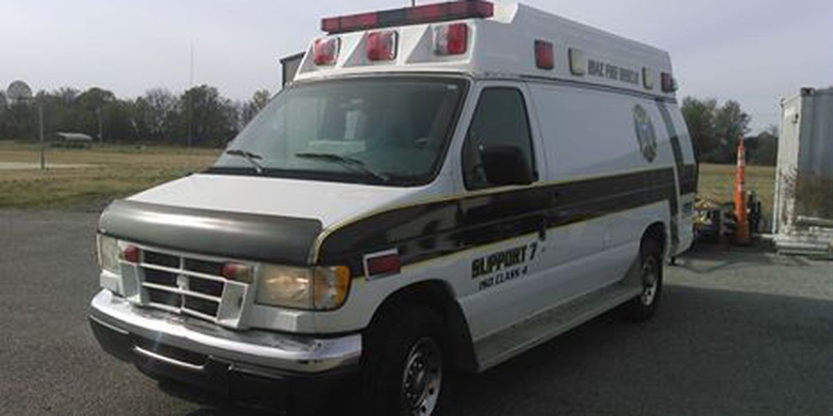 Fire department receives new rescue truck