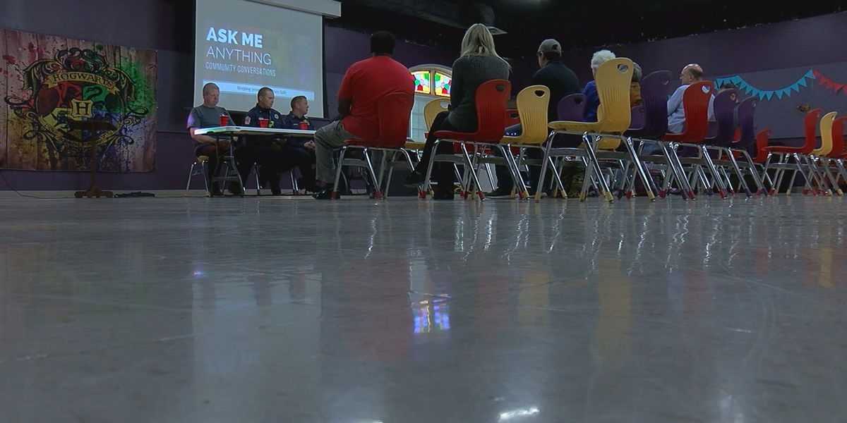 Community members gather for 'Ask Me Anything'