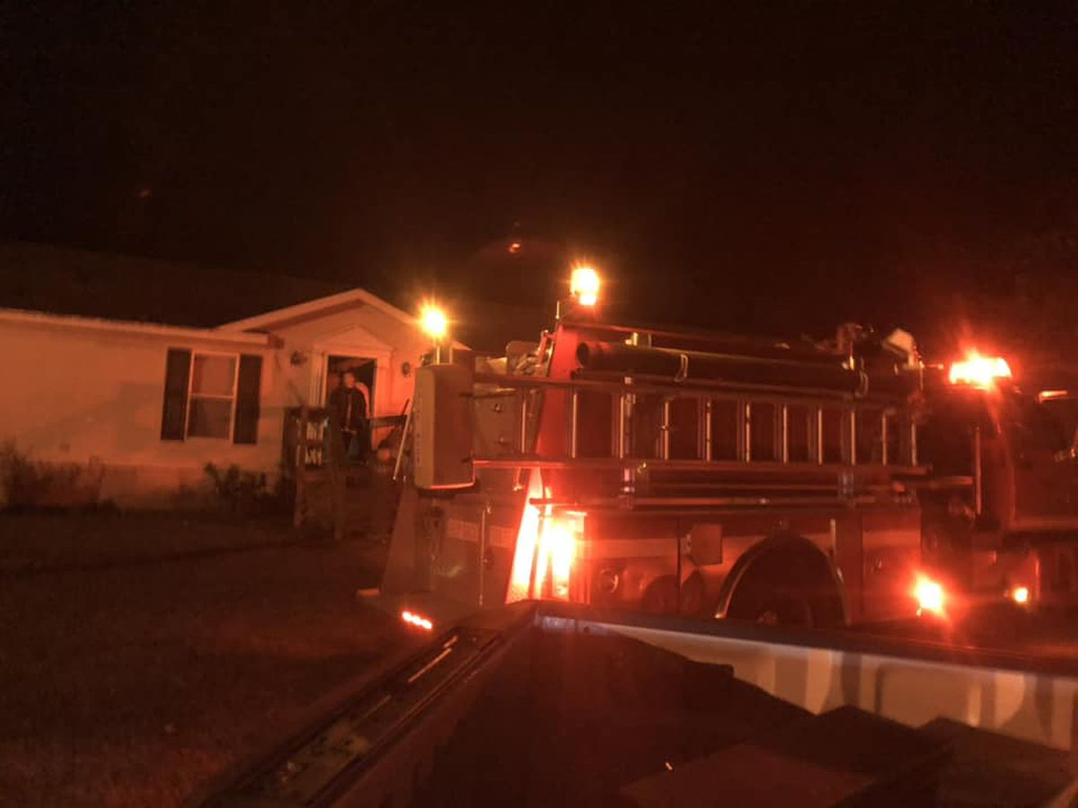 Heater catches house on fire