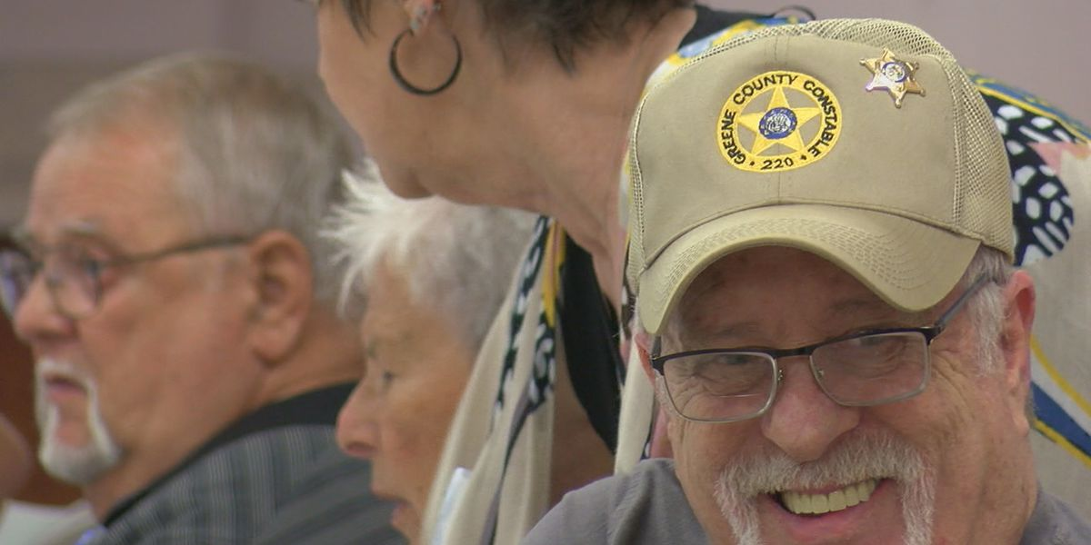 Current and retired Greene County officers gather for LEO reunion