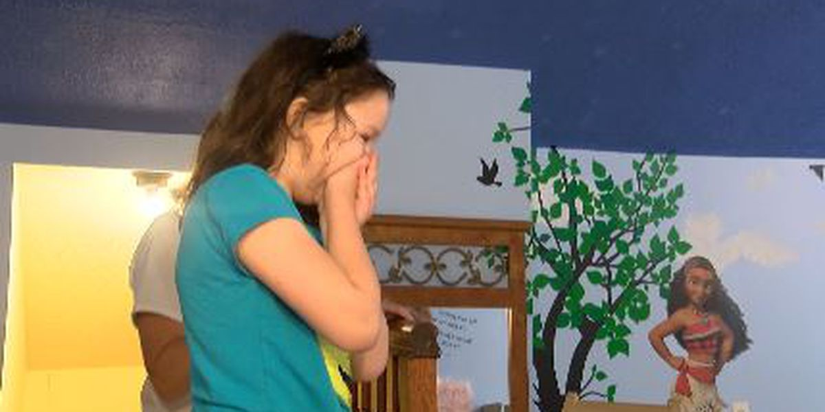 Girl with special needs gets dream bedroom on her birthday