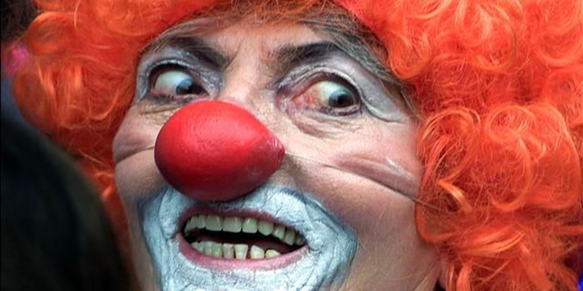 Sheriff: Act like a clown, you will go to jail