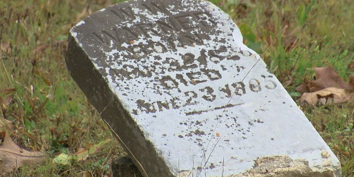 Facebook post helps return stolen gravestone