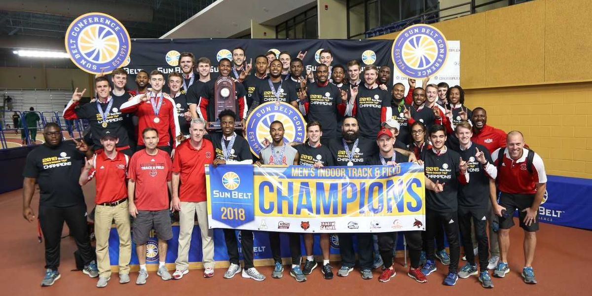 A-State Men Win Sun Belt Conference Indoor Championship