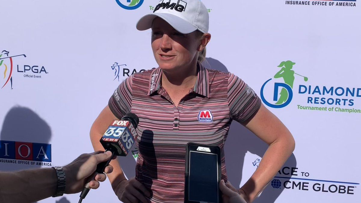 Stacy Lewis fires 66 in first round since becoming a mom