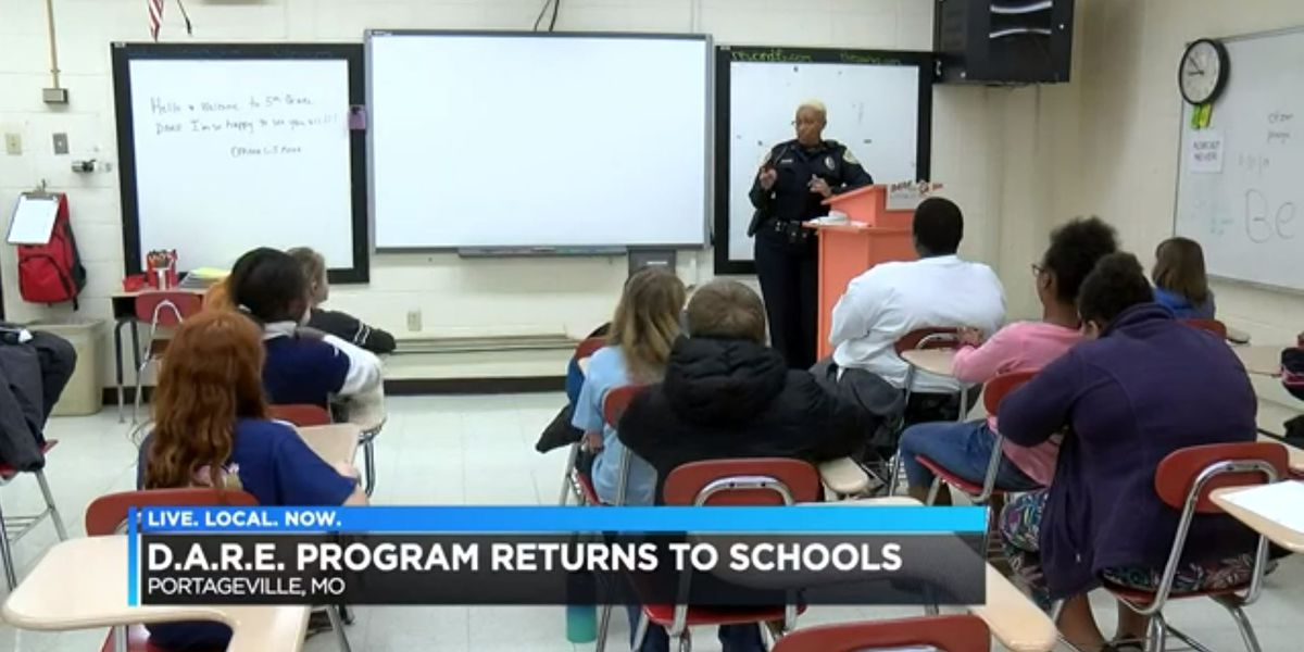 Heartland school district brings back D.A.R.E. program