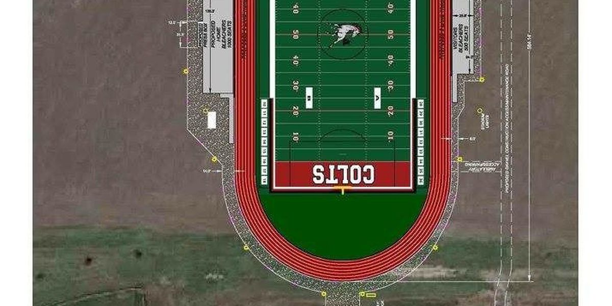 Construction underway on new Rivercrest football stadium