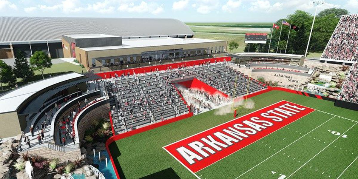A-State announces new end zone project on new website