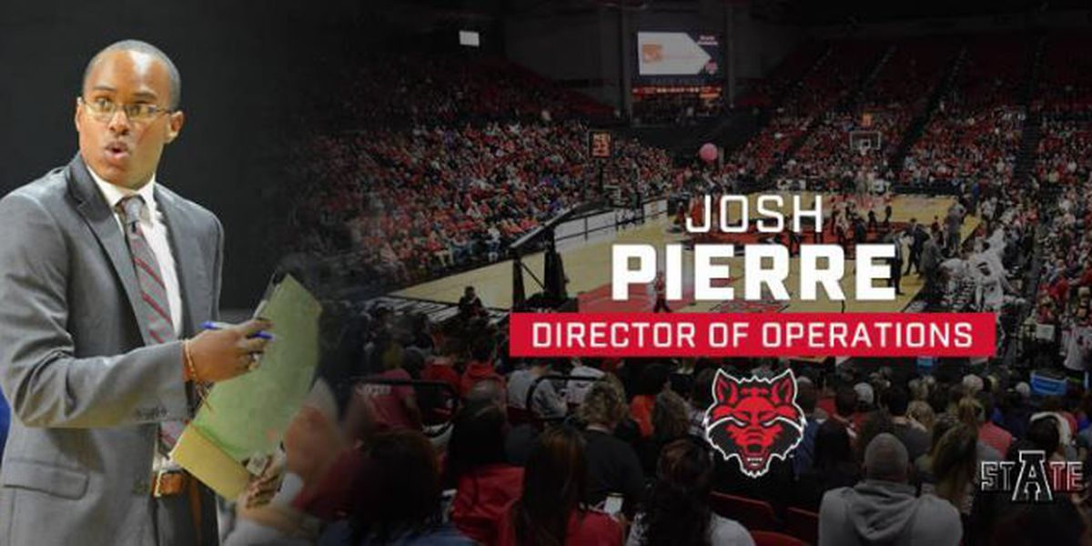 A-State's Balado Announces Hire of Josh Pierre as Director of Basketball Operations