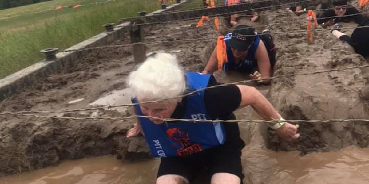 80-year-old woman completes Tough Mudder competition