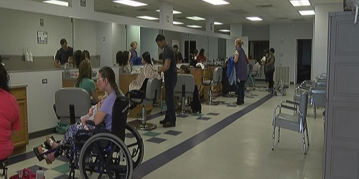 Mission Outreach residents receive spa day