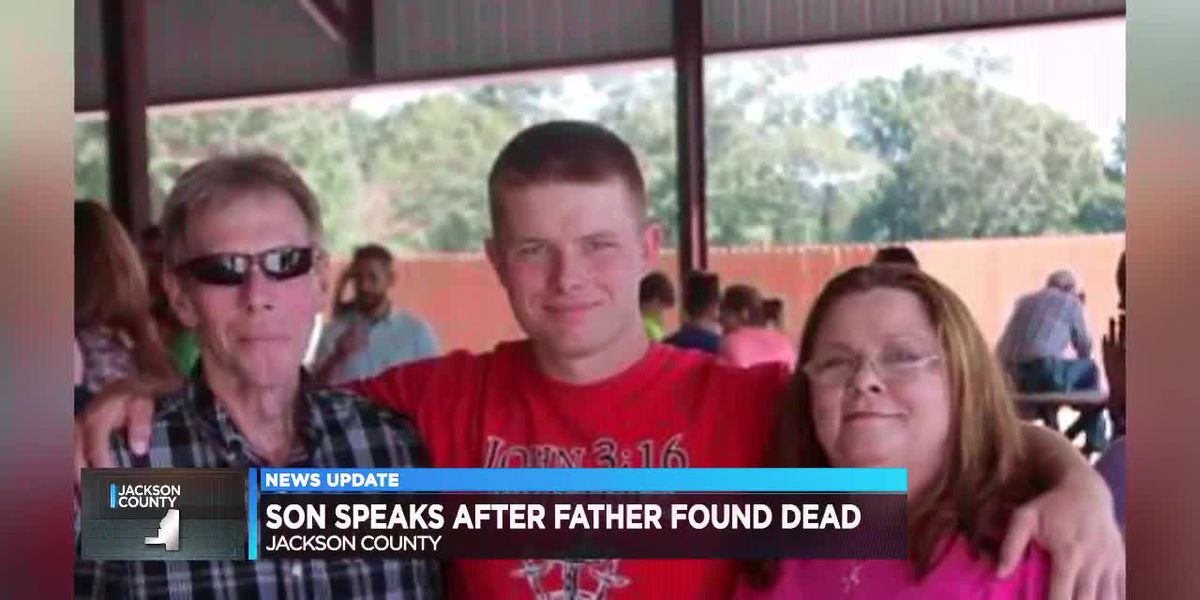 Son speaks after fathers death