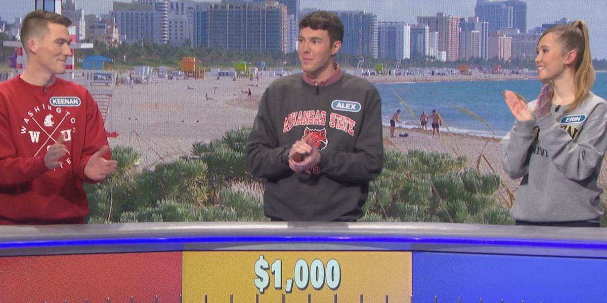 A-State student wins $5,000 on Wheel of Fortune