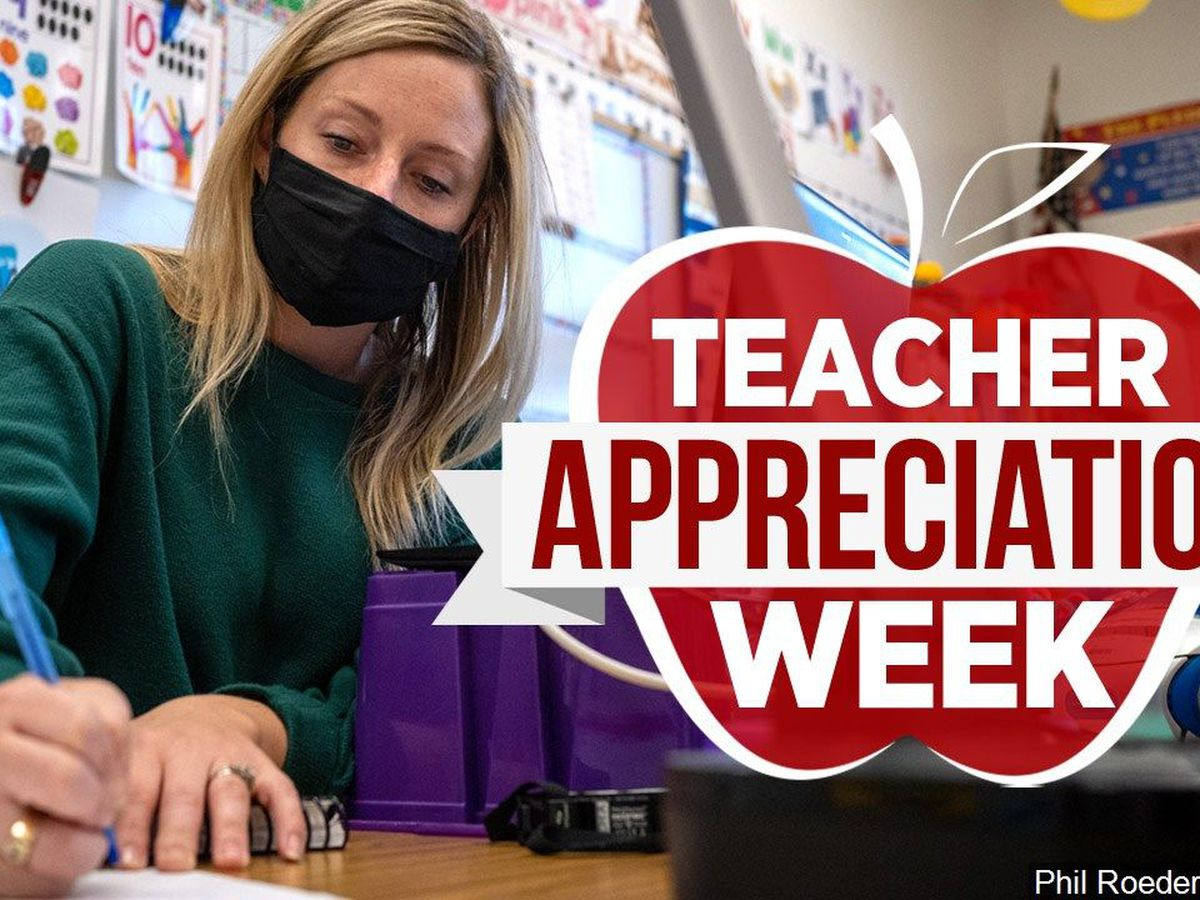 Celebrate National Teachers' Week