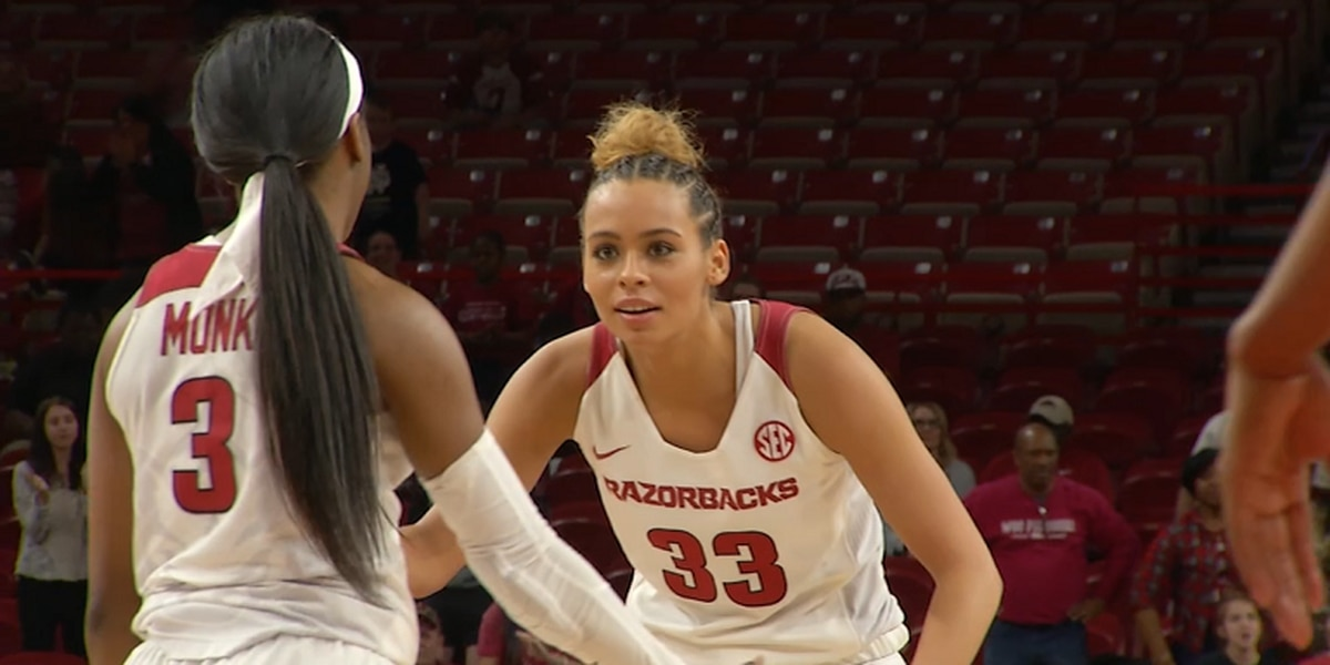 Chelsea Dungee drops 37 pts as Arkansas advances to WNIT 2nd Round