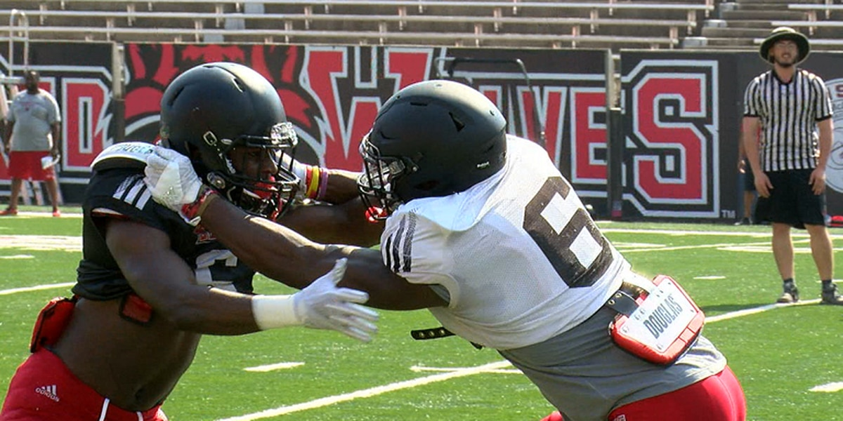 Arkansas State holds first full pad practice of fall camp Tuesday morning