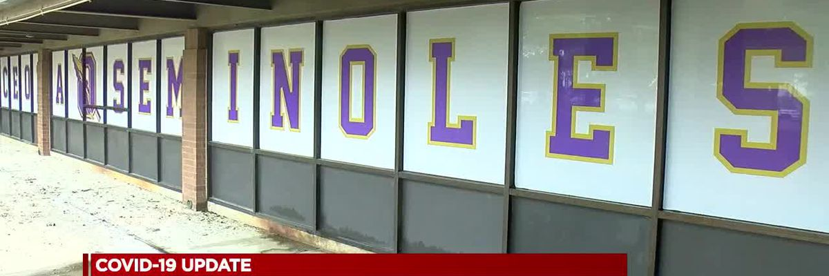 Osceola High School pauses on learning new concepts