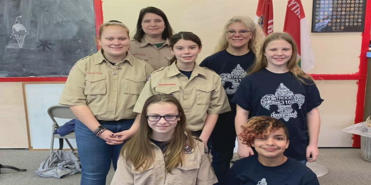 First female scout troop in Northeast Arkansas is here