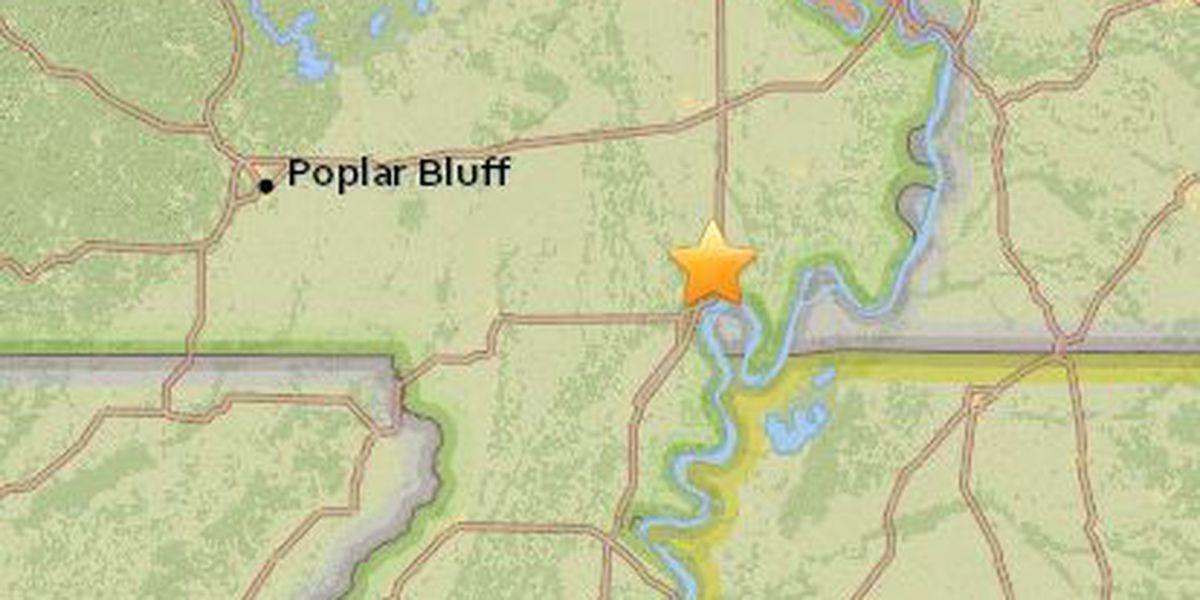 2.3-magnitude earthquake reported in Southeast Missouri