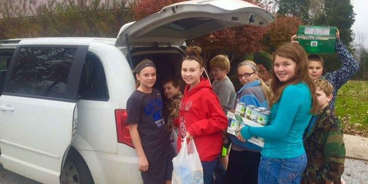 GR8 Job: Cord-Charlotte student council, church holds food drive