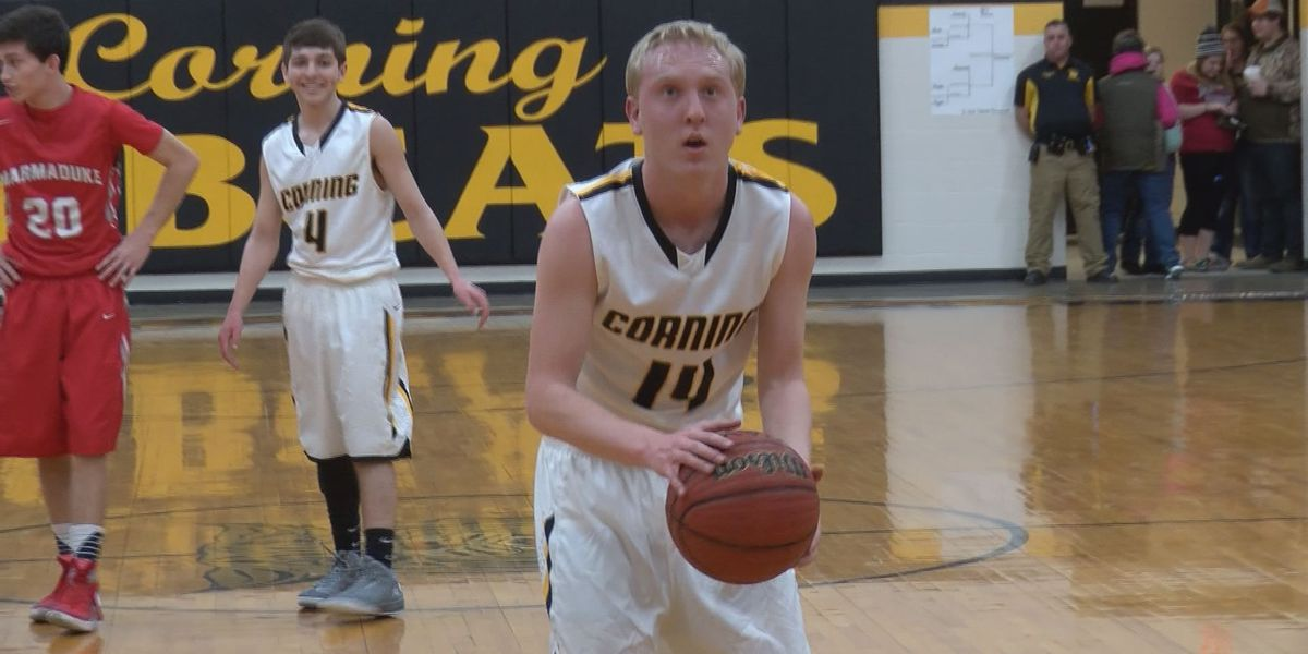 Corning basketball manager, Special Olympian makes debut on senior night