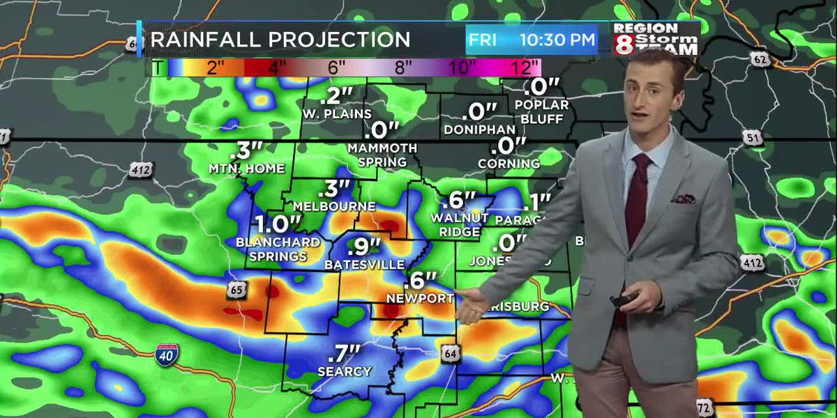 Showers, storms moving through could slow your morning commute