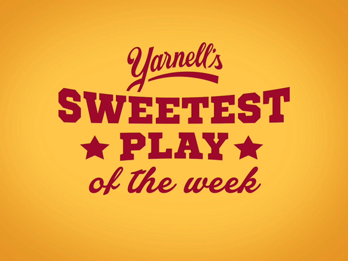 Vote for the Yarnell's Sweetest Play of the Week (9/25/20)