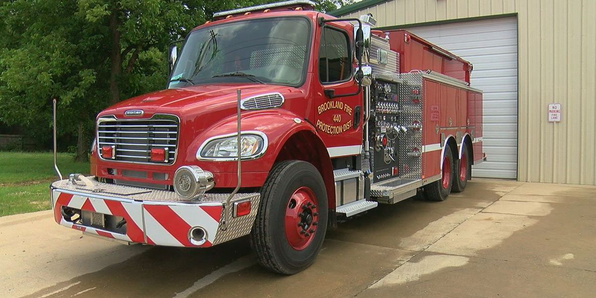 Brookland firefighters get new gear, pumper truck