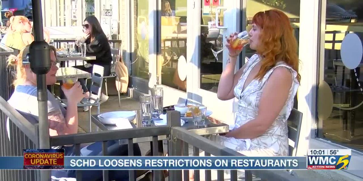 Restaurant and bar employees react to the latest health directive by the Shelby Co. Health Department