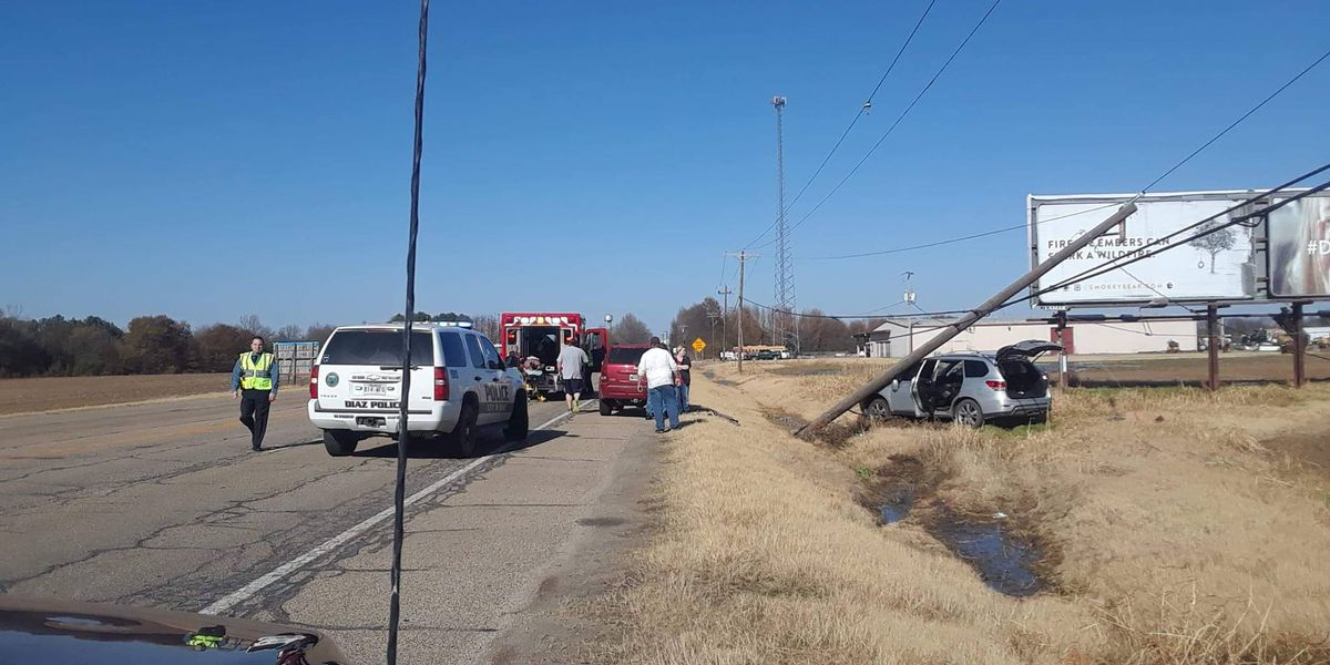 Person injured in crash, authorities say
