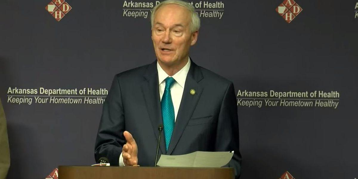 WATCH: Ark. Governor Hutchinson, ADH Secretary Smith coronavirus update