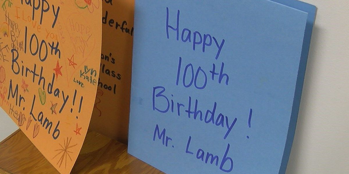 Lawrence Co. man celebrates his 100th birthday