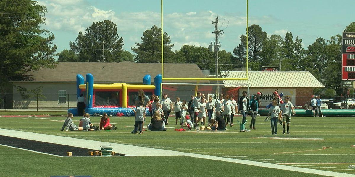 Brookland hosts special event for Special Olympics team