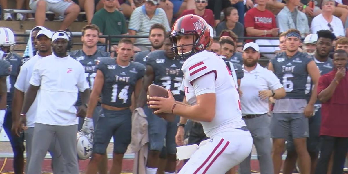 Hatcher shines in first start as A-State beats Troy 50-43 in Sun Belt opener