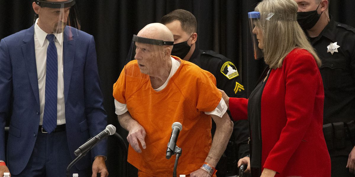 Golden State Killer admits to dozens of rapes, 13 murders