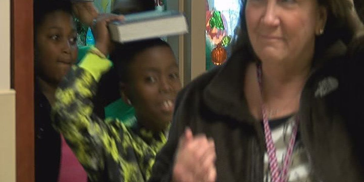 Students participate in Great ShakeOut safety drill