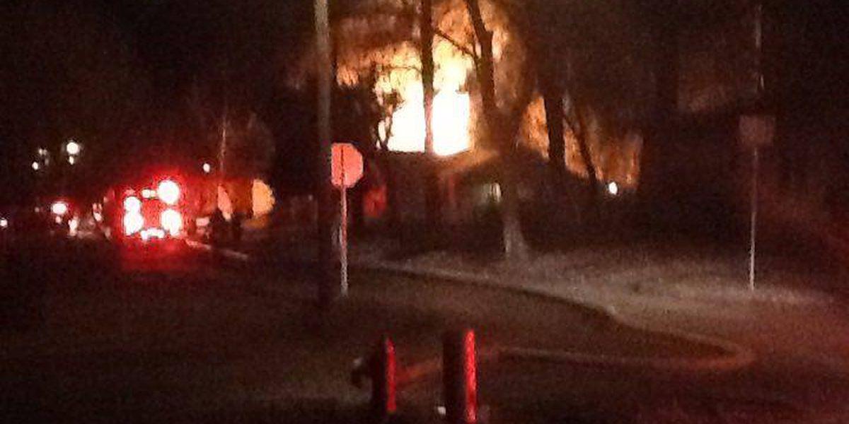 Jonesboro home destroyed in Sunday morning fire