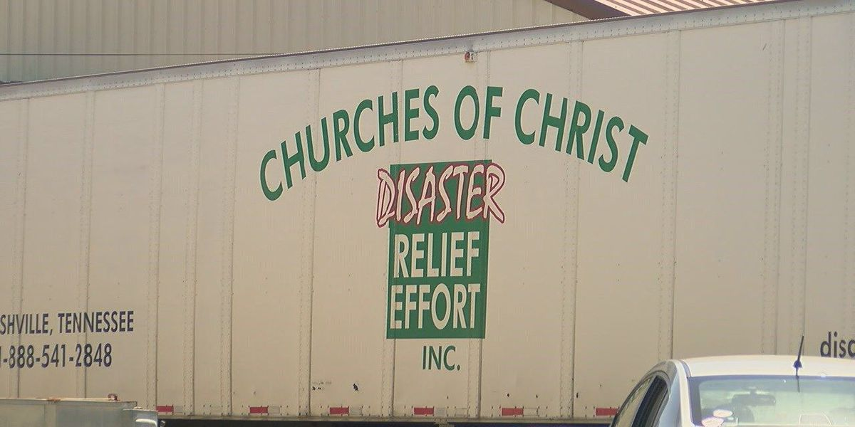 Church helping out flood victims