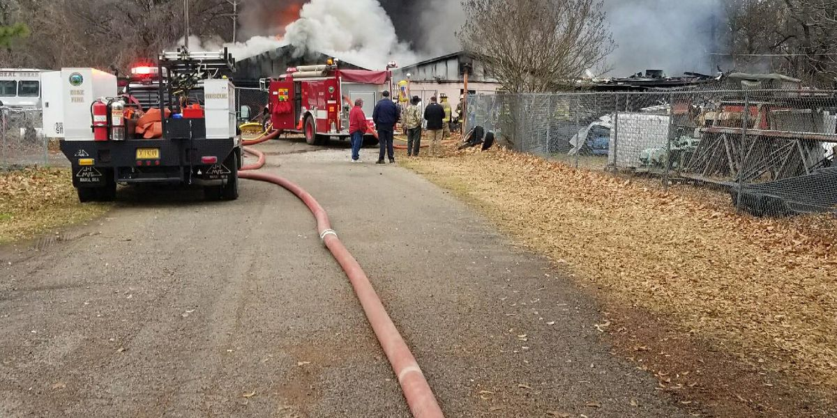 Swifton house fire under control